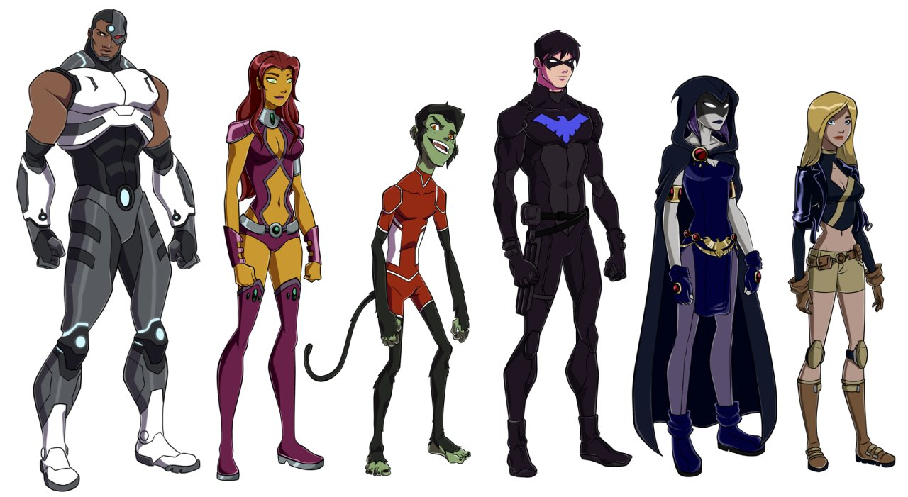 Teen Titans Backgrounds on Wallpapers Vista