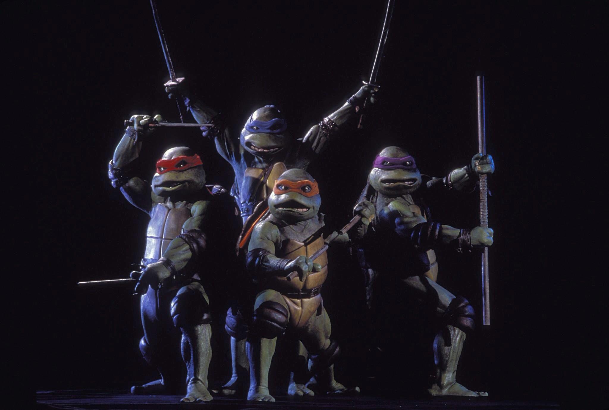 HD Quality Wallpaper   Collection: Movie, 2048x1378 Teenage Mutant Ninja Turtles (1990)