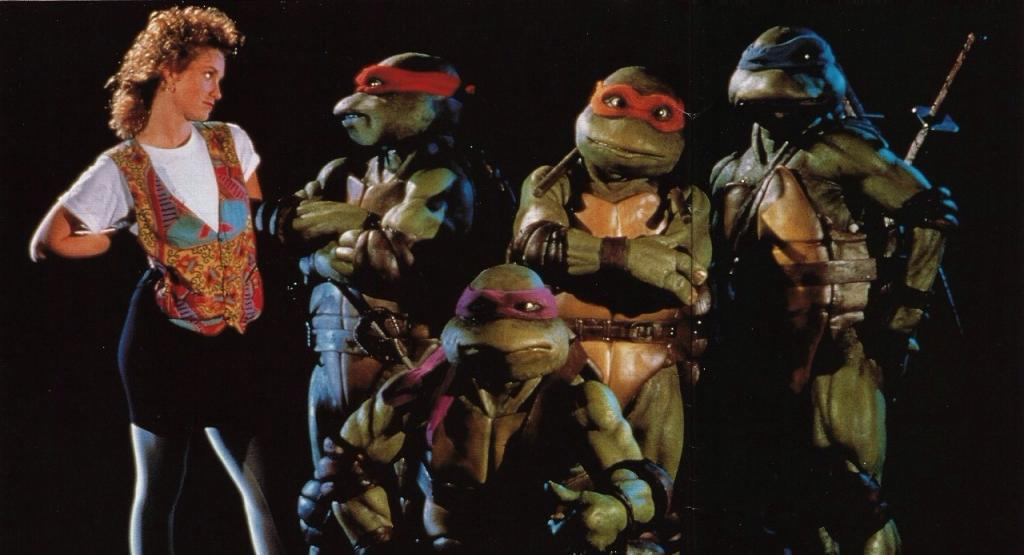 HD Quality Wallpaper   Collection: Movie, 1024x555 Teenage Mutant Ninja Turtles (1990)
