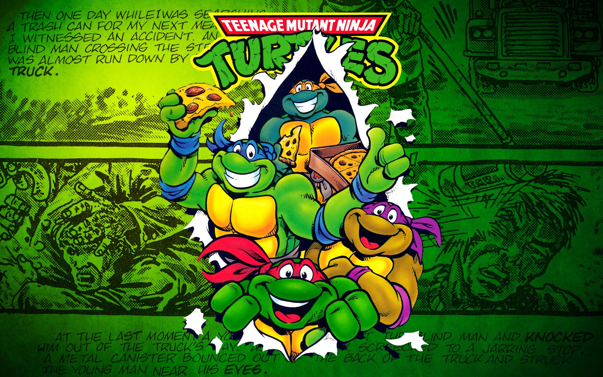 Nice wallpapers Teenage Mutant Ninja Turtles Forever 1920x1200px