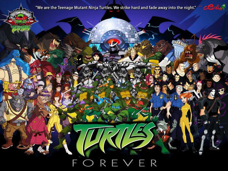 736x552 > Teenage Mutant Ninja Turtles Forever Wallpapers