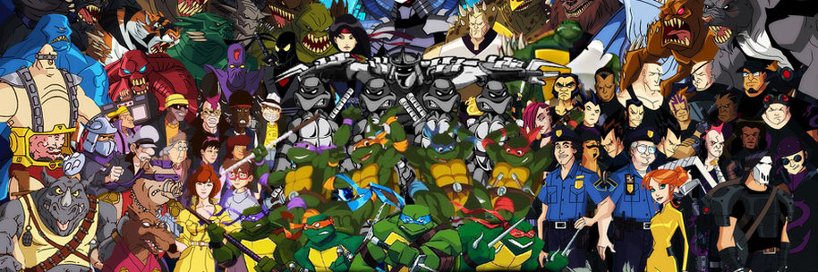 914x304 > Teenage Mutant Ninja Turtles Forever Wallpapers