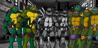 Nice wallpapers Teenage Mutant Ninja Turtles Forever 400x196px