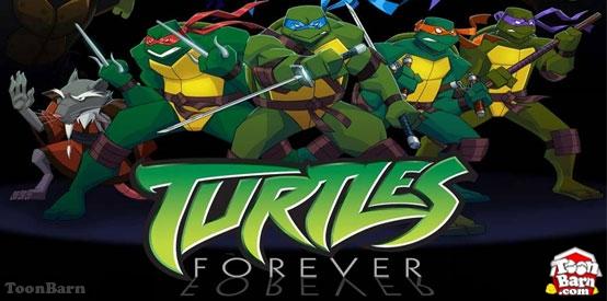 HD Quality Wallpaper   Collection: Cartoon, 554x275 Teenage Mutant Ninja Turtles Forever