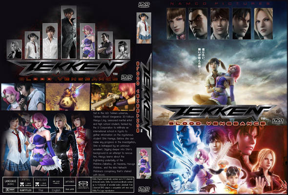 tekken blood vengeance movie poster