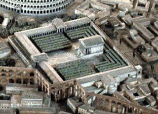 Nice Images Collection: Temple Of Claudius Desktop Wallpapers