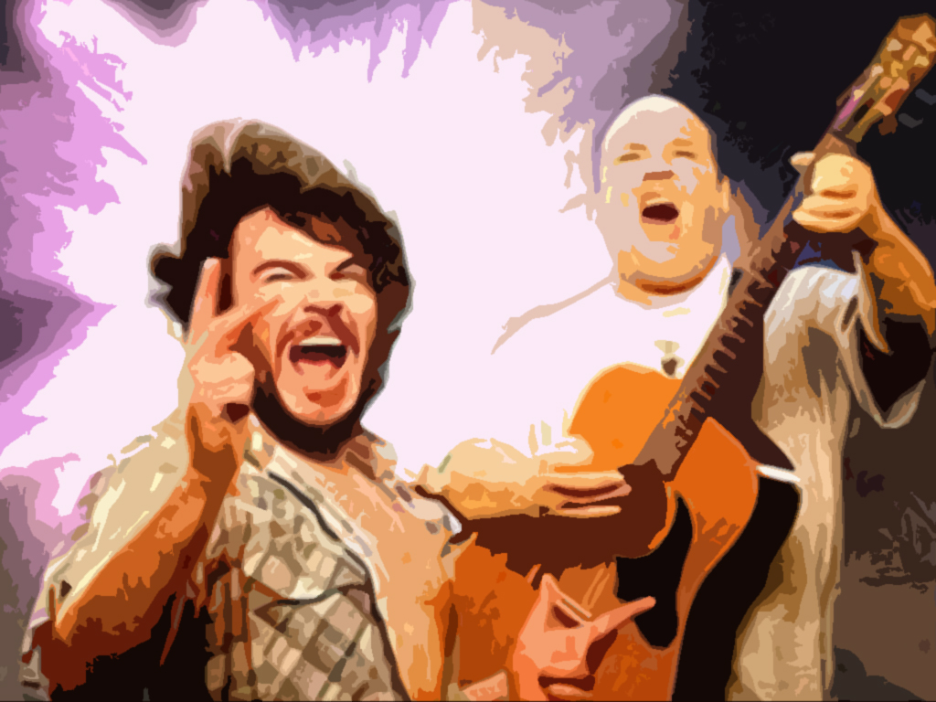 HD Quality Wallpaper | Collection: Music, 1024x768 Tenacious D