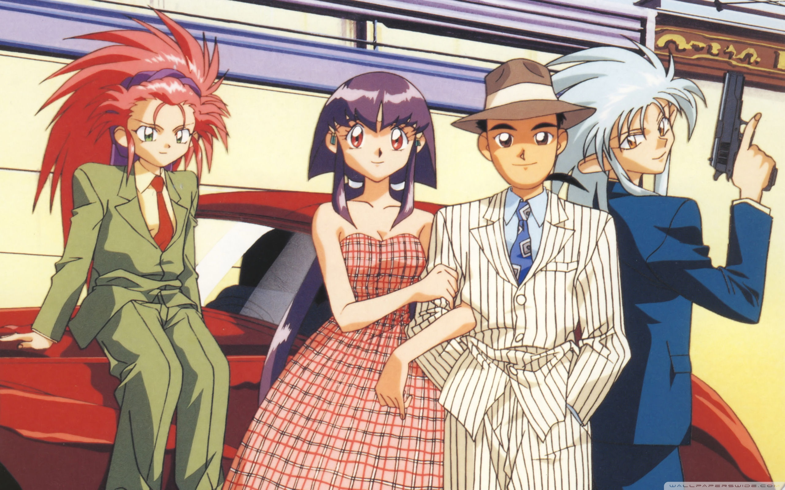Tenchi Muyo Wallpapers Anime Hq Tenchi Muyo Pictures 4k