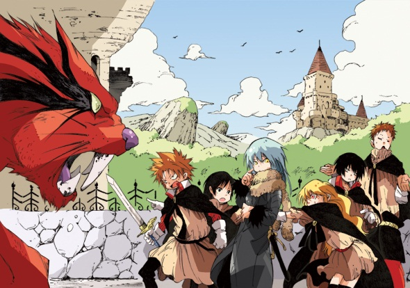 HD Quality Wallpaper | Collection: Anime, 590x414 Tensei Shitara Slime Datta Ken
