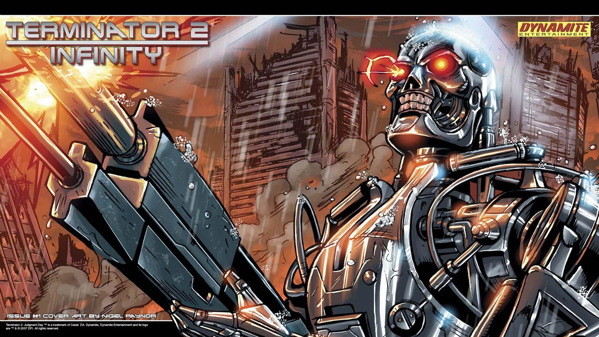 Amazing Terminator 5 Infinity Pictures & Backgrounds