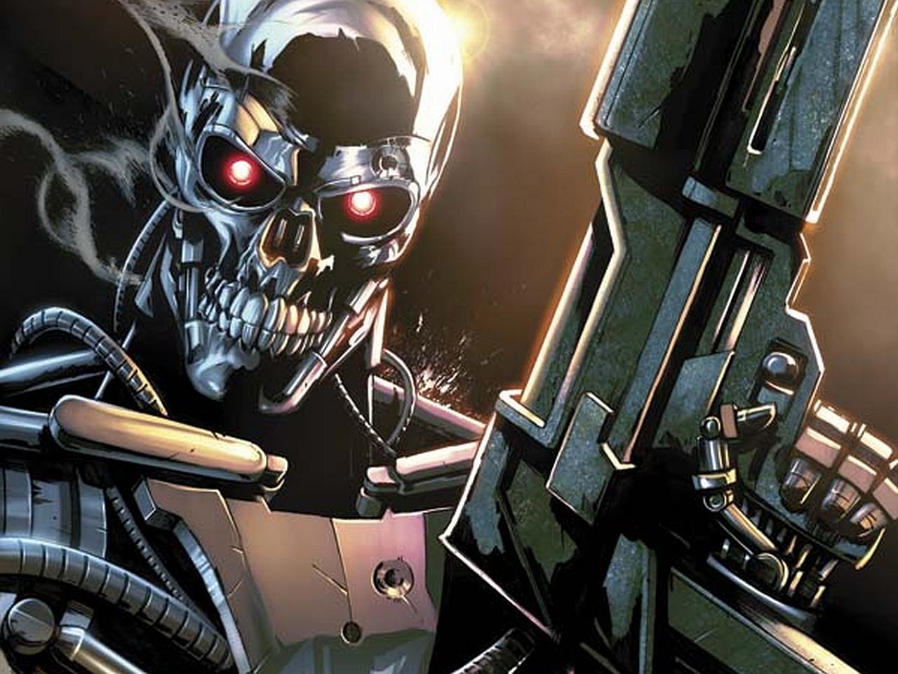 HD Quality Wallpaper | Collection: Comics, 1280x960 Terminator 5 Infinity