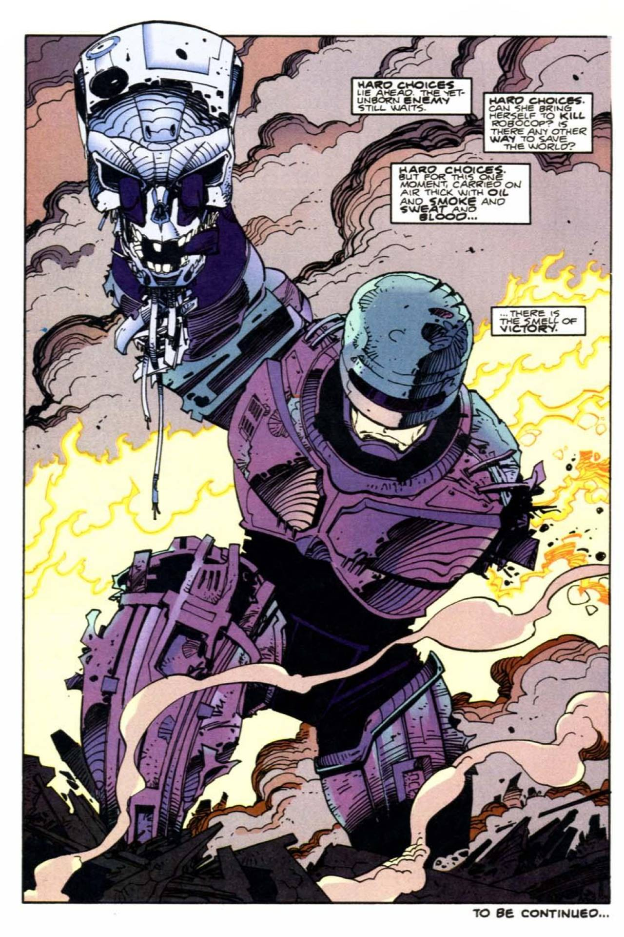HD Quality Wallpaper | Collection: Comics, 1280x1920 Terminator Robocop