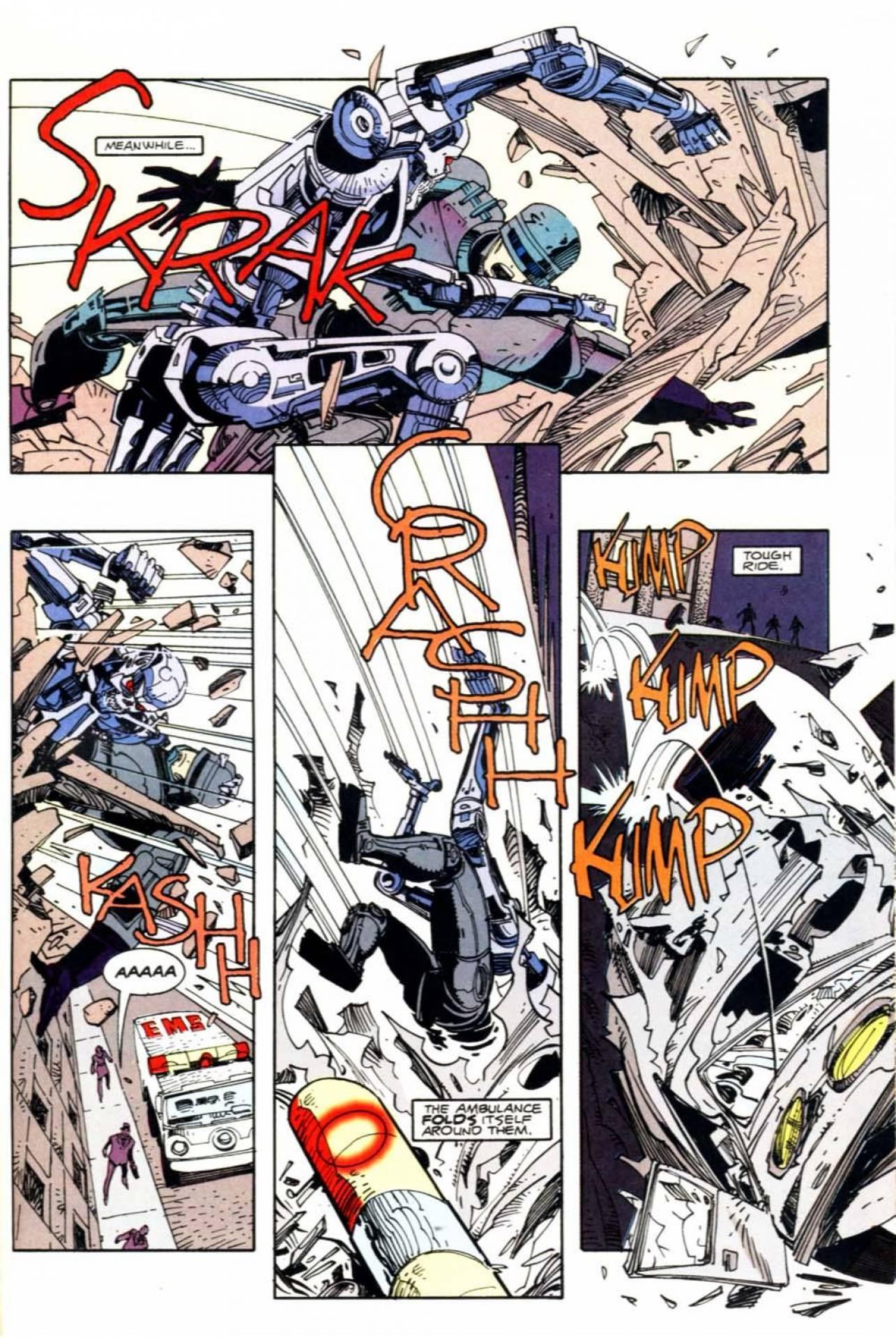 Nice Images Collection: Terminator Robocop Desktop Wallpapers