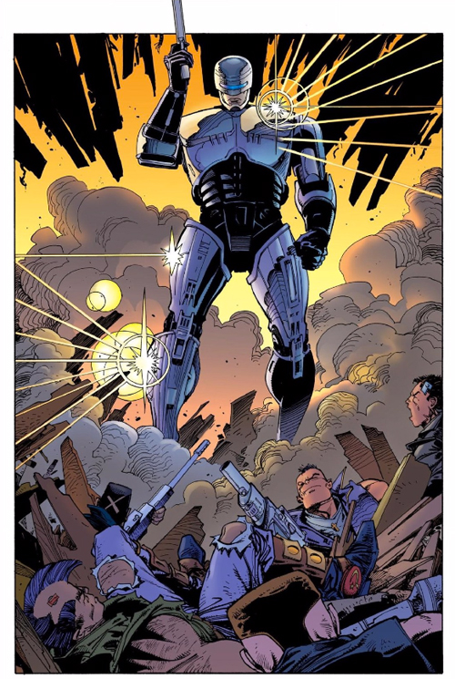 High Resolution Wallpaper | Terminator Robocop 500x745 px