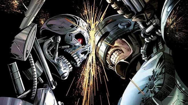 Terminator Robocop Pics, Comics Collection