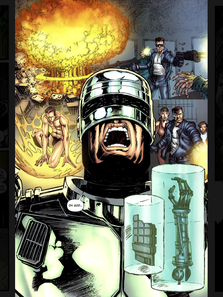 High Resolution Wallpaper | Terminator Robocop 768x1024 px