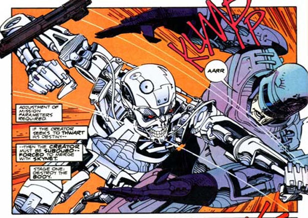 High Resolution Wallpaper | Terminator Robocop 615x435 px