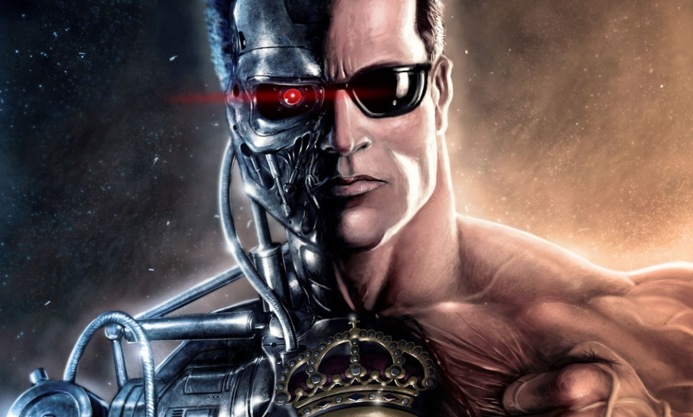 Nice wallpapers Terminator 1000x601px
