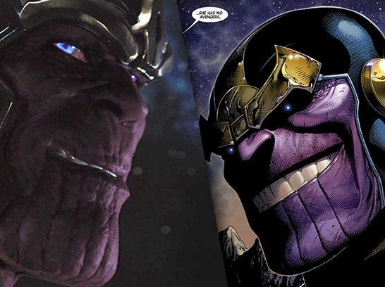 High Resolution Wallpaper | Thanos 546x408 px