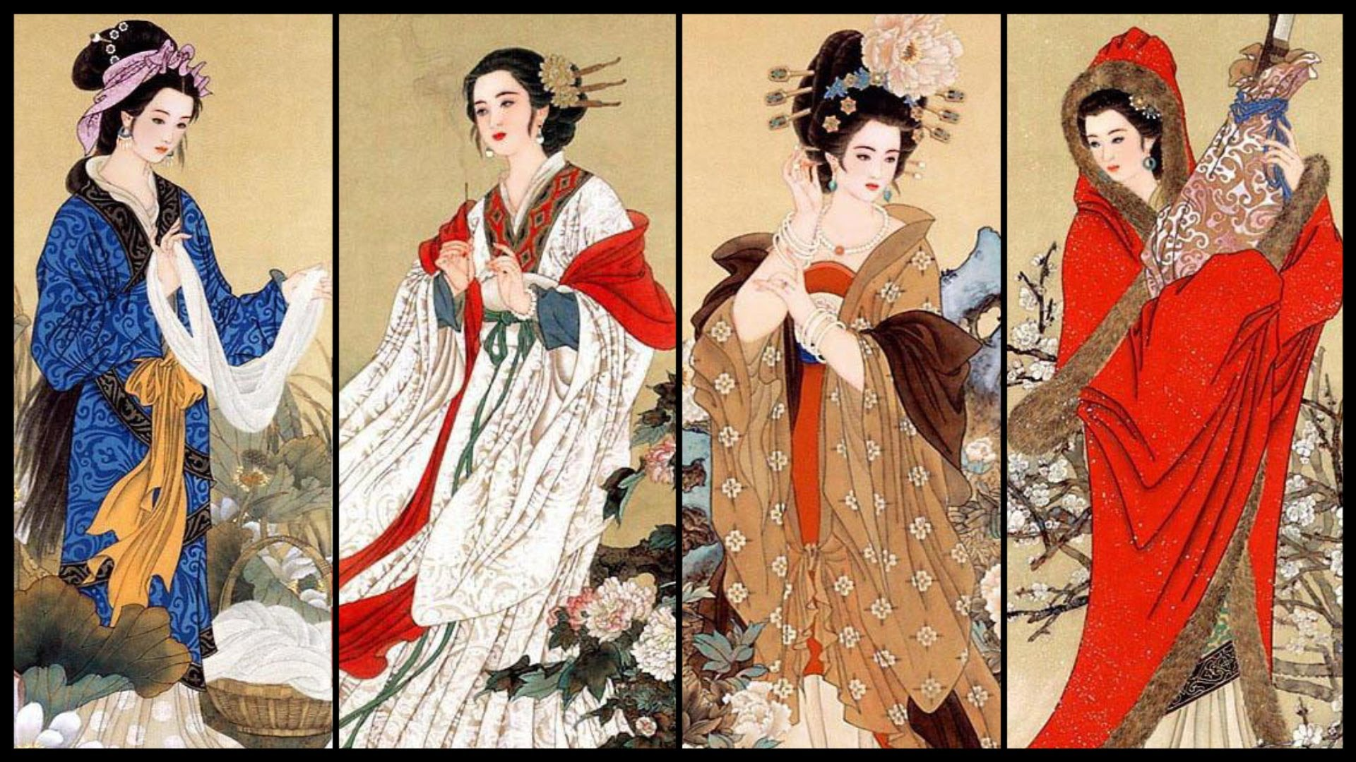HQ The Ancient Chinese Beauty Wallpapers | File 433.52Kb