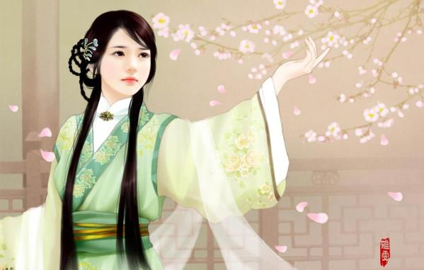HD Quality Wallpaper | Collection: Artistic, 599x382 The Ancient Chinese Beauty