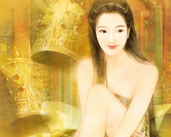 Nice Images Collection: The Ancient Chinese Beauty Desktop Wallpapers