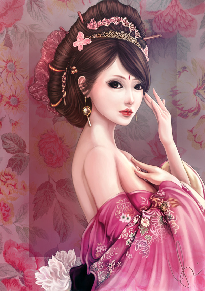The Ancient Chinese Beauty Pics, Artistic Collection