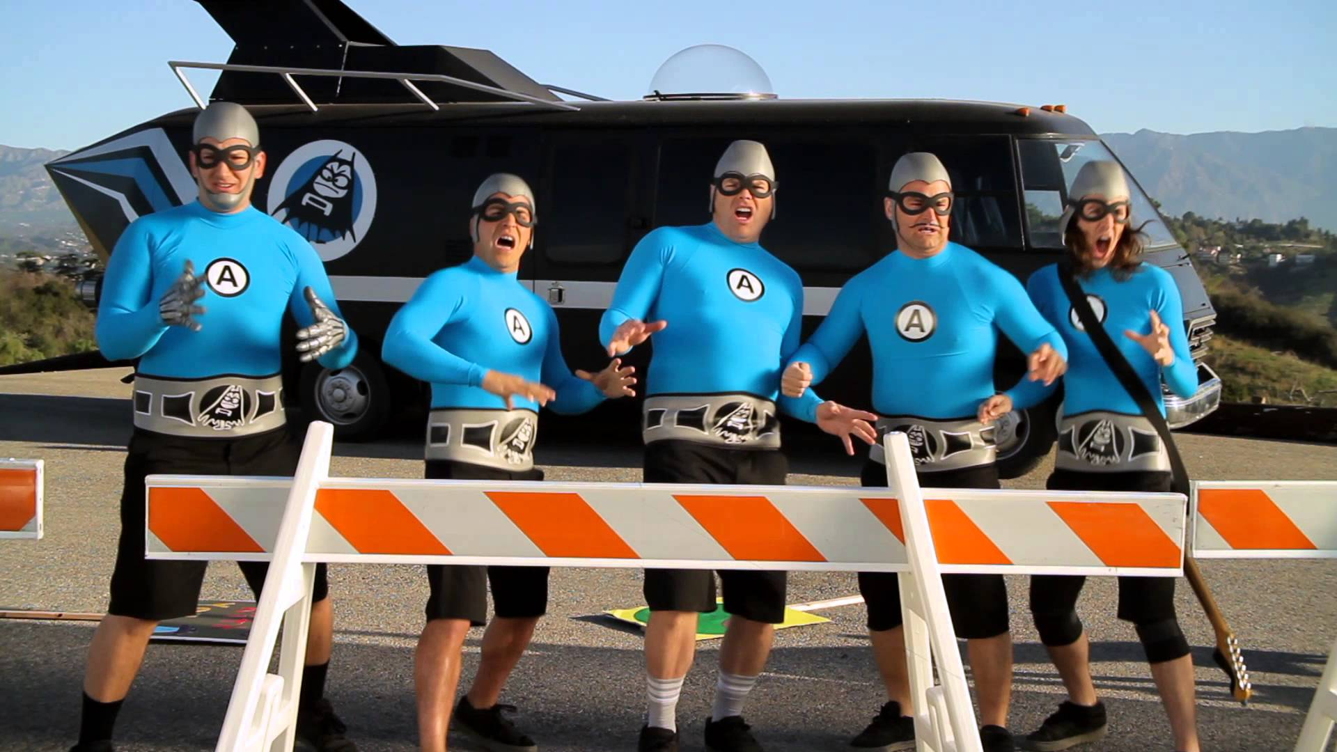 High Resolution Wallpaper | The Aquabats 1920x1080 px