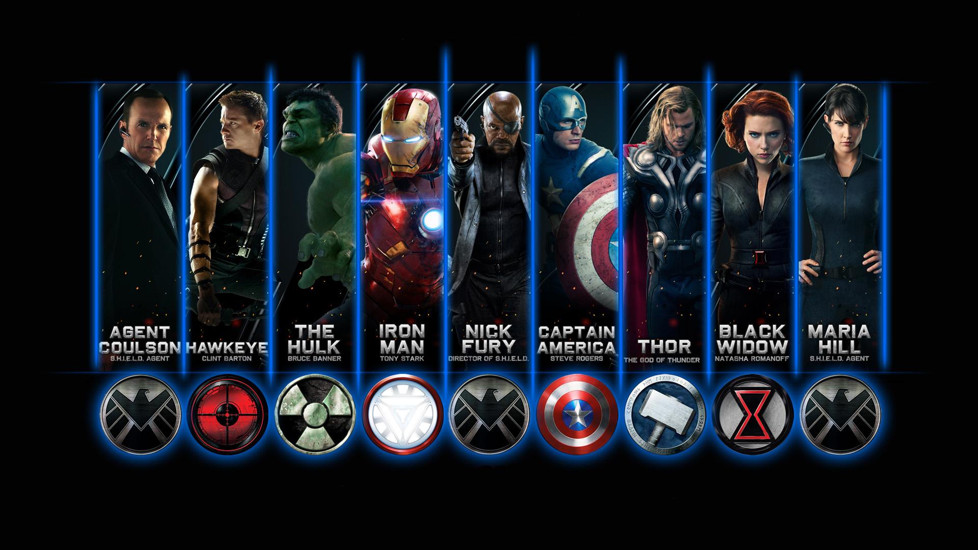 High Resolution Wallpaper | The Avengers 1920x1080 px