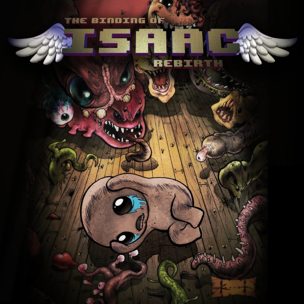 The Binding Of Isaac Rebirth Wallpapers Video Game Hq The