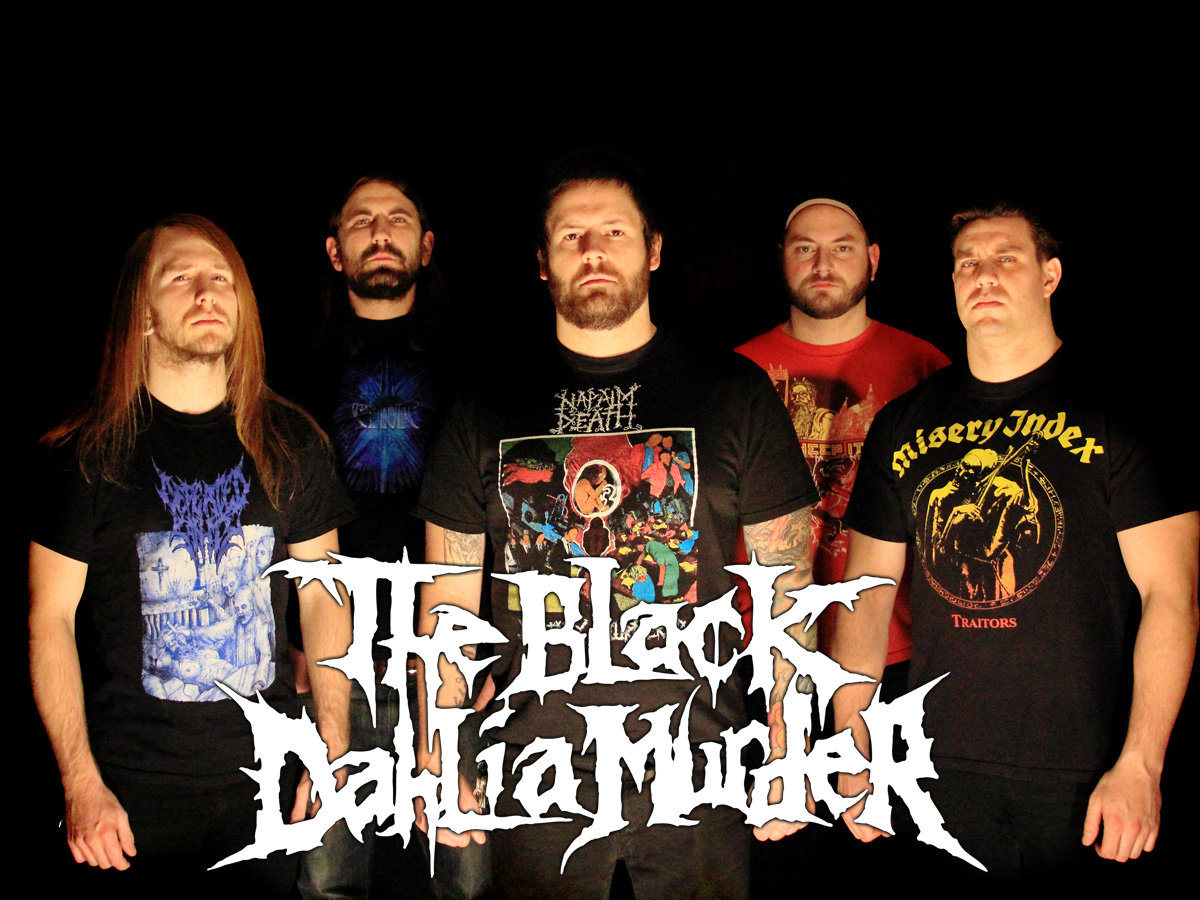 The Black Dahlia Murder Wallpapers Music Hq The Black Dahlia
