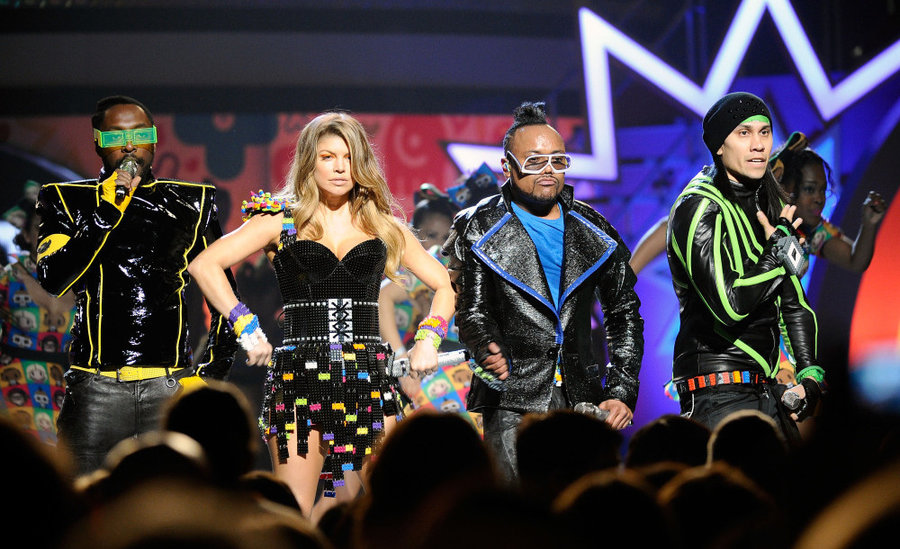 Nice wallpapers The Black Eyed Peas 900x549px