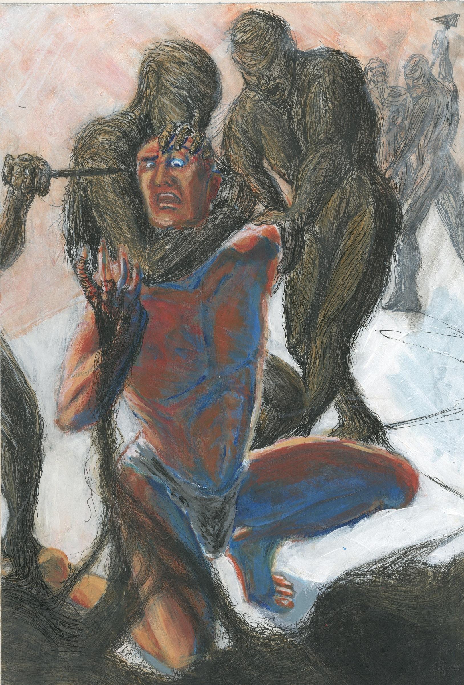 The Blinding Of Samson #7
