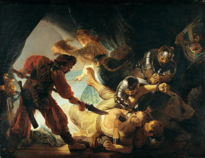 High Resolution Wallpaper | The Blinding Of Samson 700x542 px