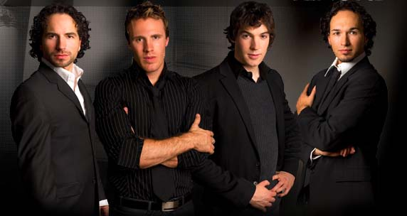 HD Quality Wallpaper   Collection: Music, 572x304 The Canadian Tenors