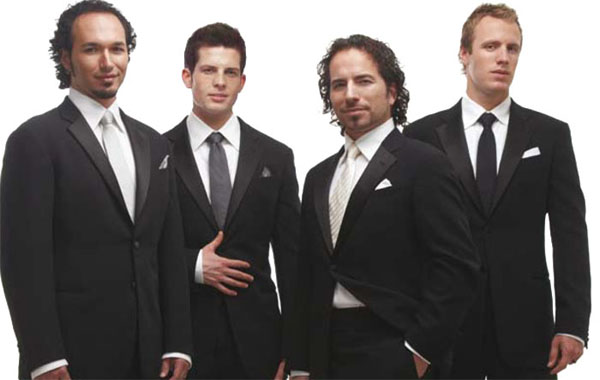 High Resolution Wallpaper   The Canadian Tenors 600x380 px
