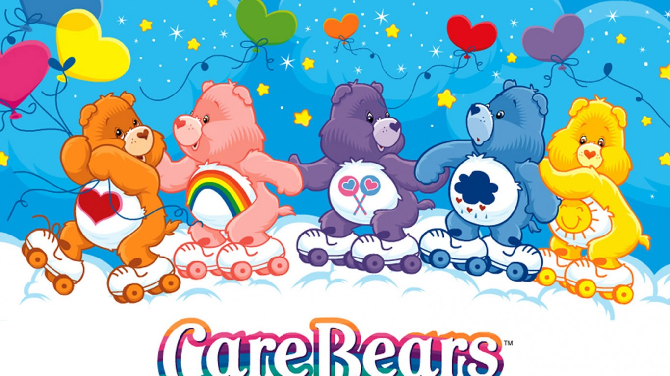 The Care Bears Backgrounds, Compatible - PC, Mobile, Gadgets  1366x768 px