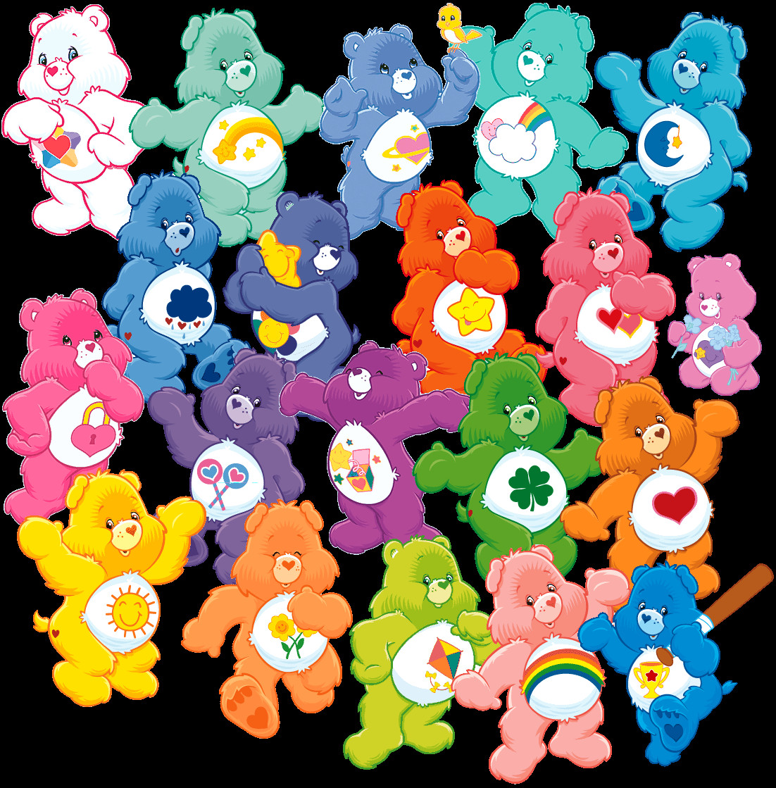 Nice Images Collection: The Care Bears Desktop Wallpapers