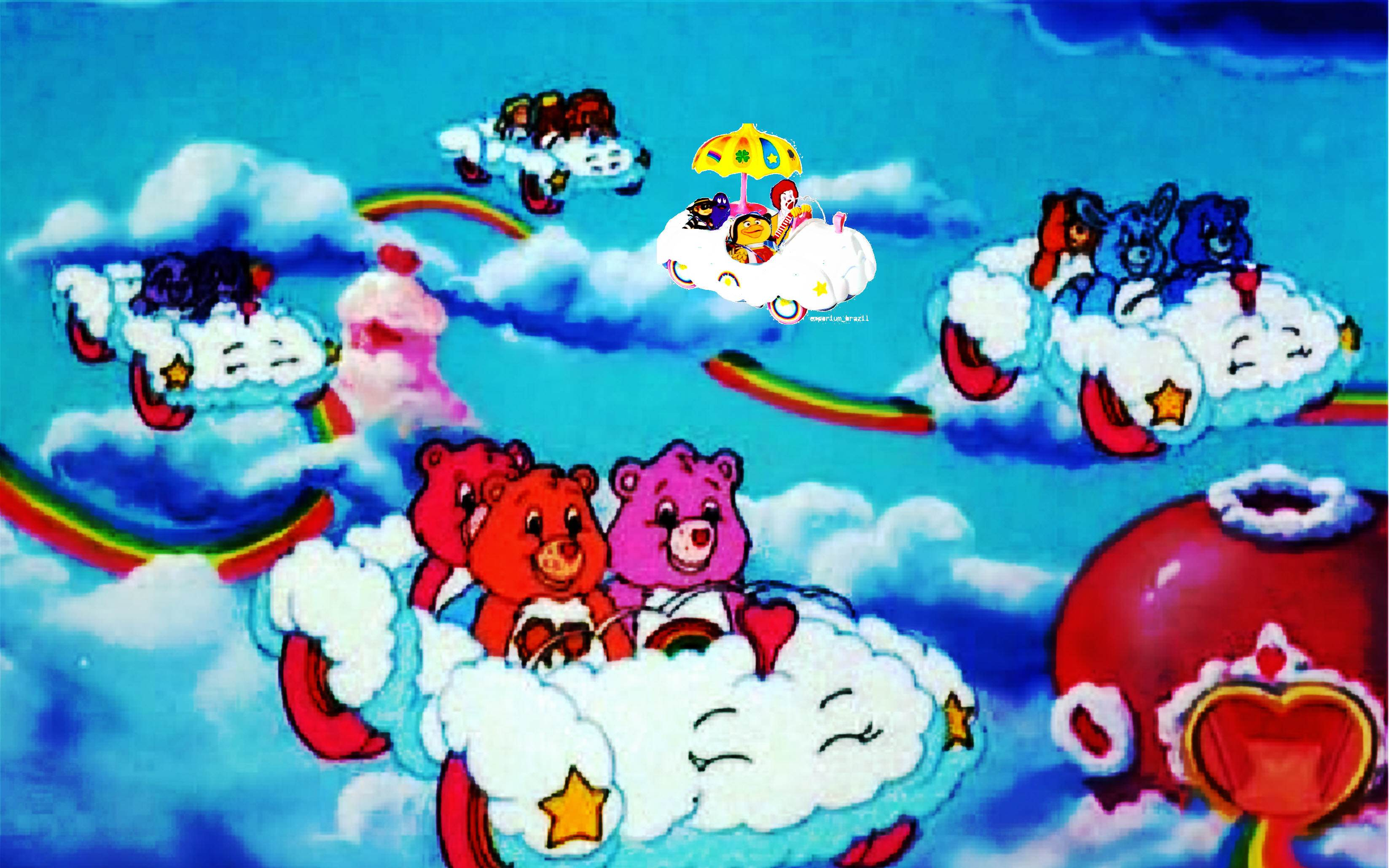 HD Quality Wallpaper   Collection: Cartoon, 3295x2060 The Care Bears