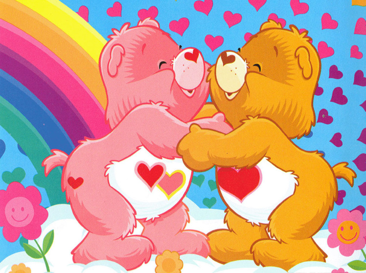 The Care Bears Backgrounds, Compatible - PC, Mobile, Gadgets  748x558 px