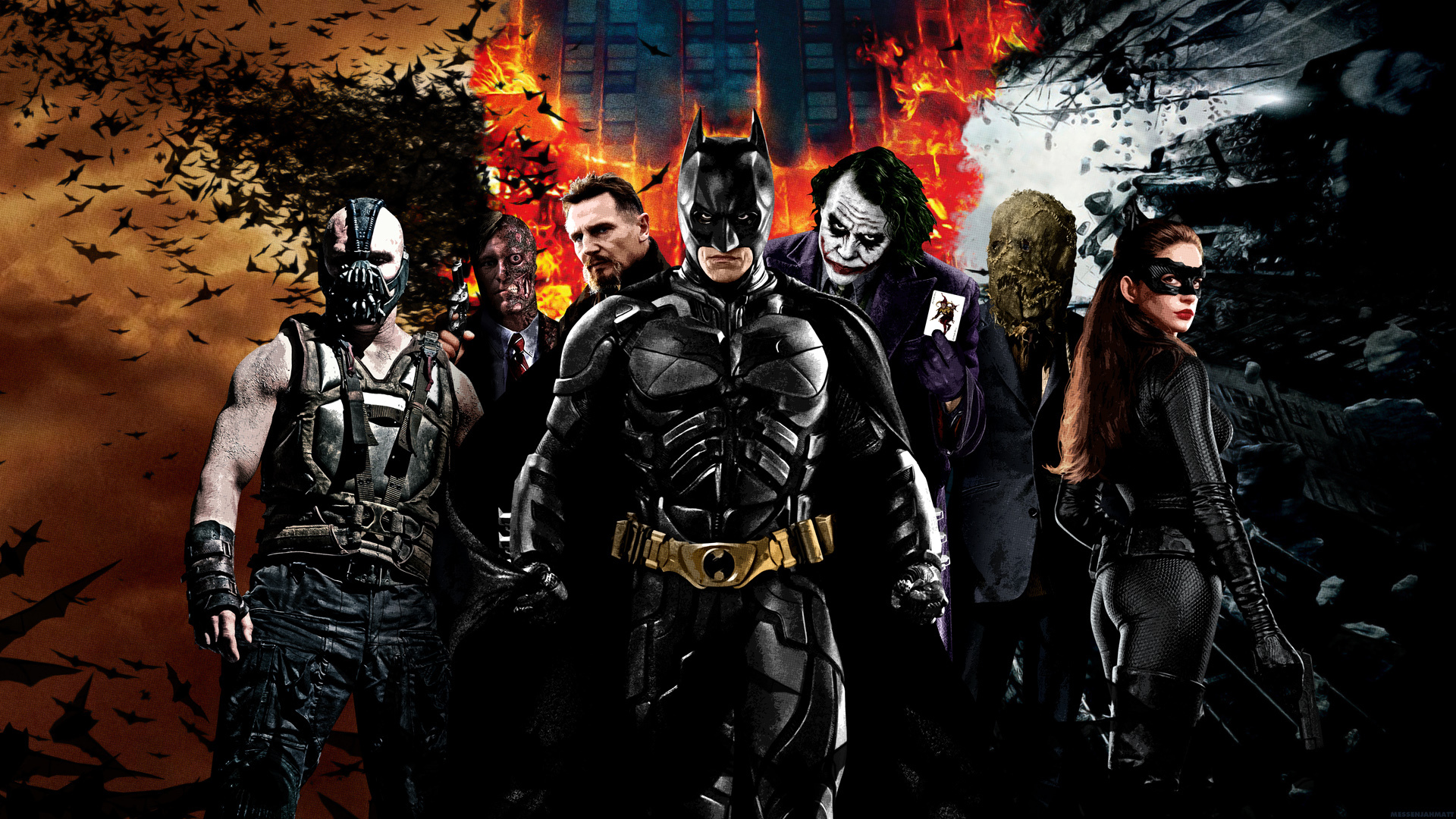 The Dark Knight Trilogy Wallpapers Movie Hq The Dark Knight