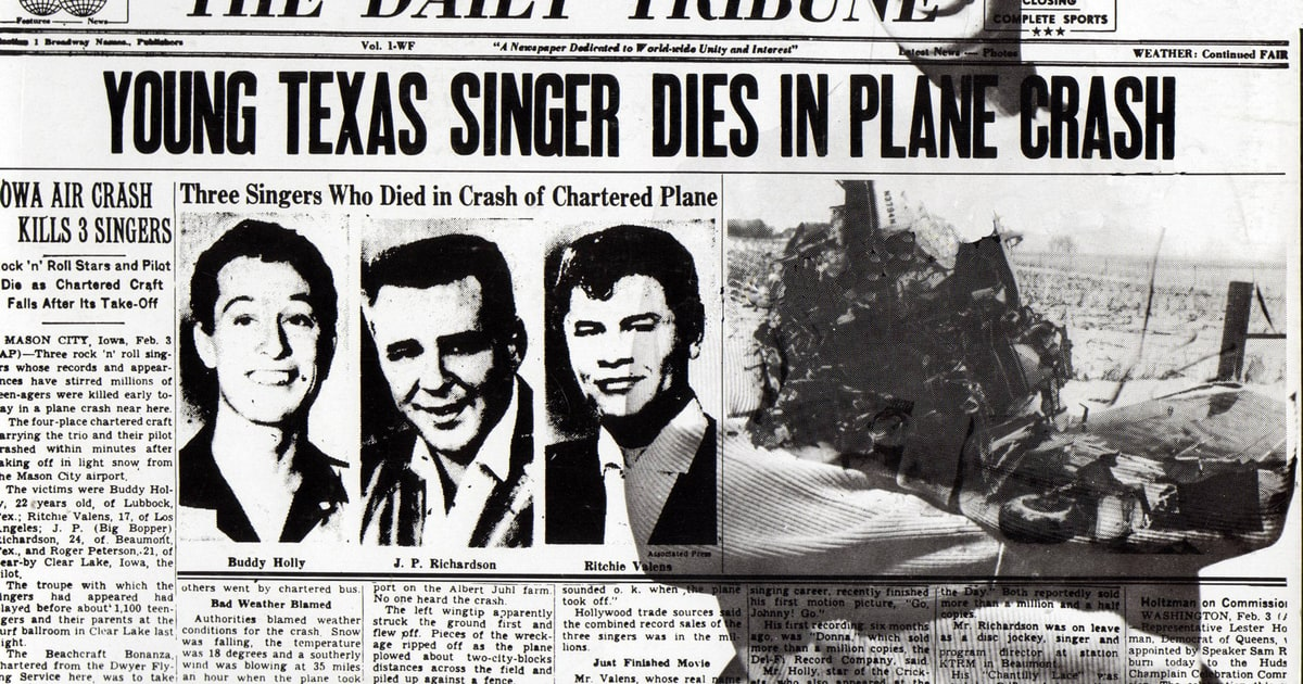 Amazing The Day The Music Died Pictures & Backgrounds
