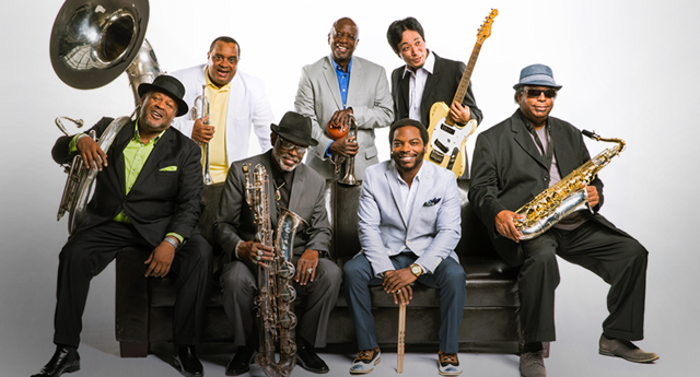 Nice wallpapers The Dirty Dozen Brass Band 640x345px