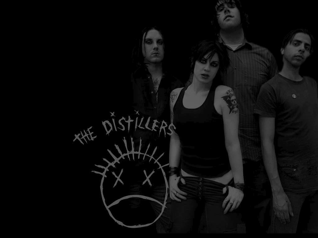 Nice wallpapers The Distillers 1024x768px