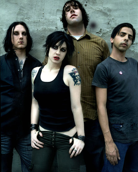 HD Quality Wallpaper | Collection: Music, 445x552 The Distillers