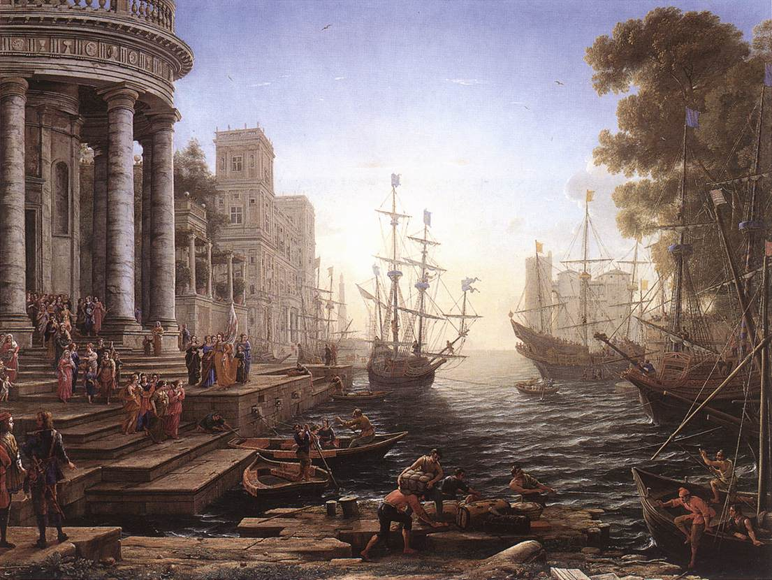 HD Quality Wallpaper | Collection: Artistic, 1105x830 The Embarkation For Cythera