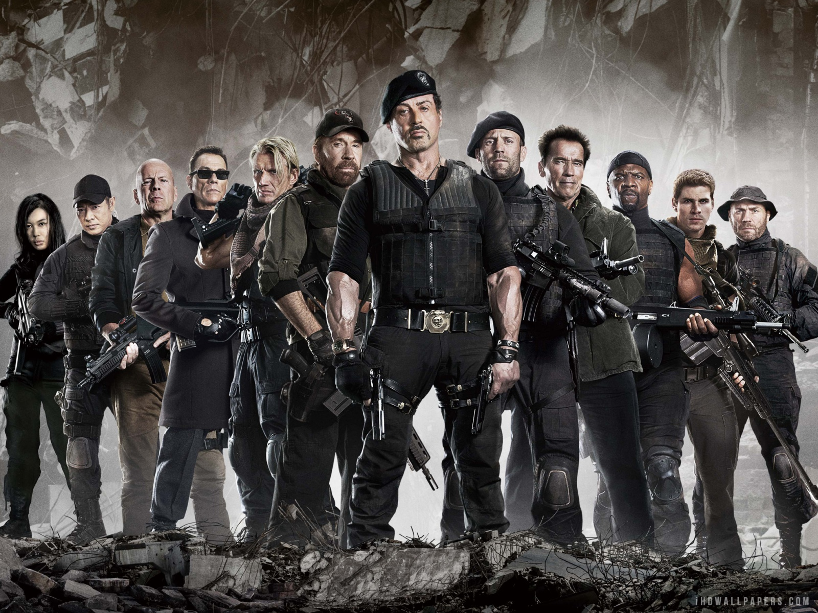 HQ The Expendables Wallpapers | File 779.63Kb