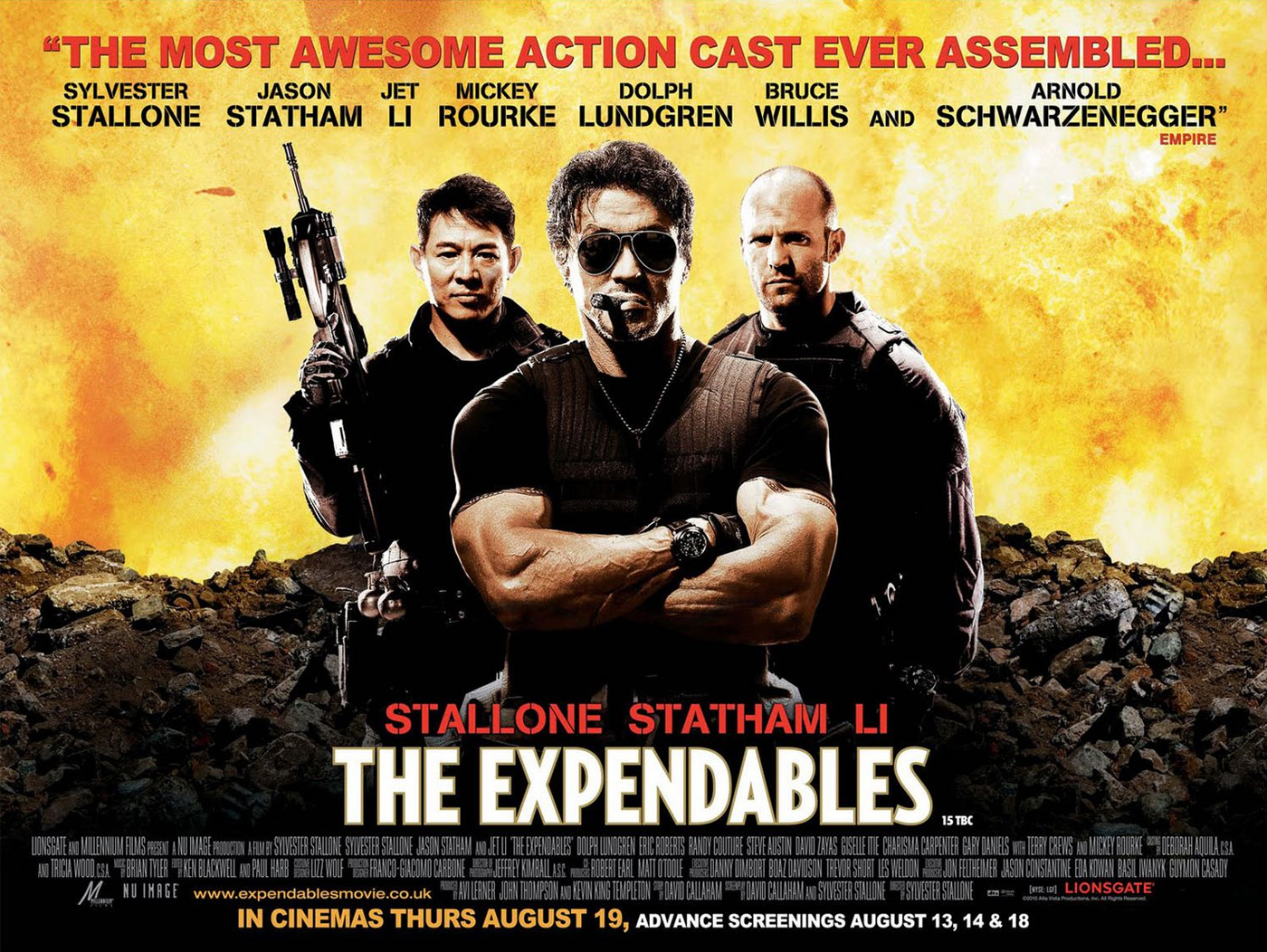 The Expendables High Quality Background on Wallpapers Vista
