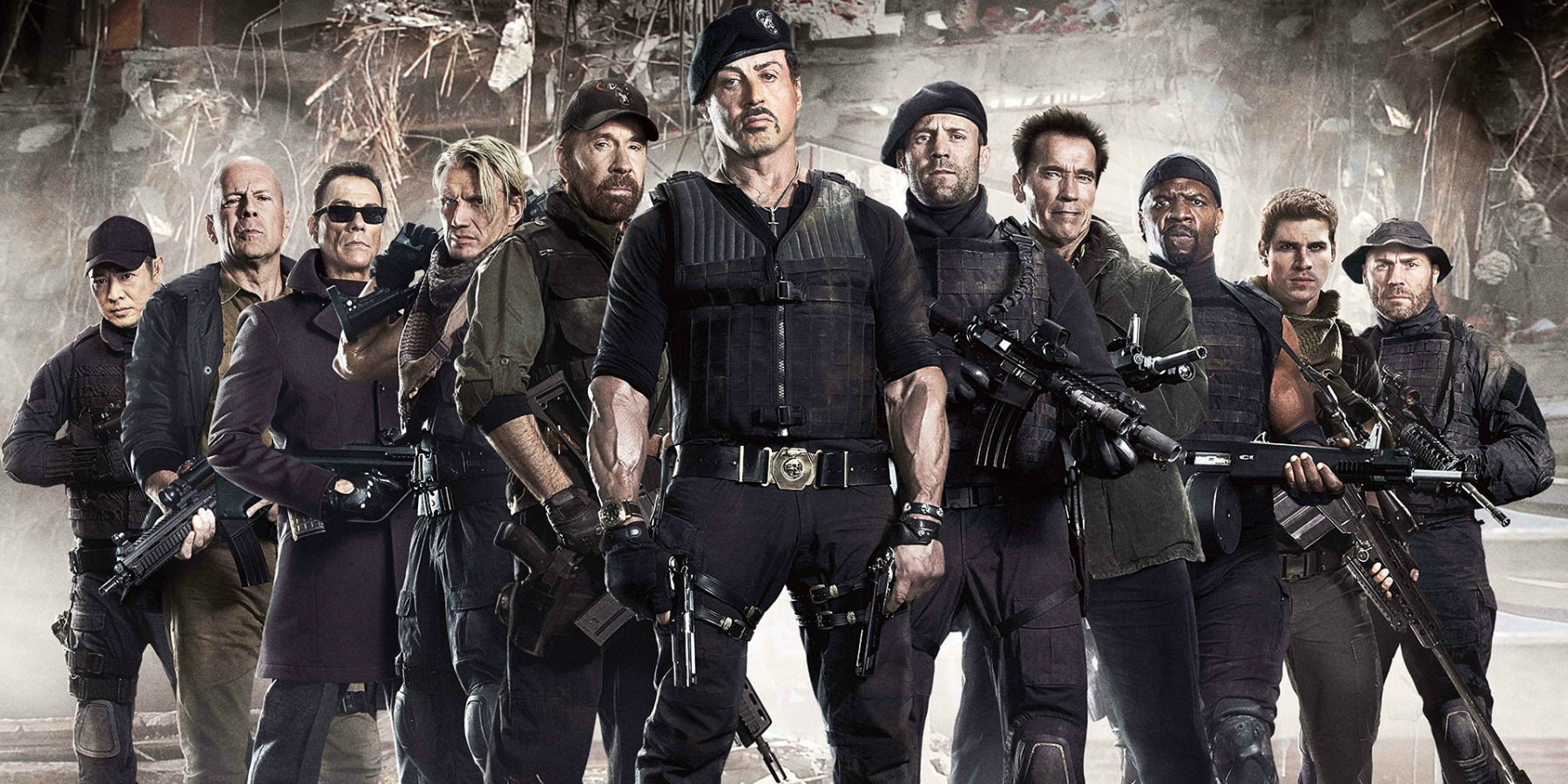 Nice Images Collection: The Expendables Desktop Wallpapers