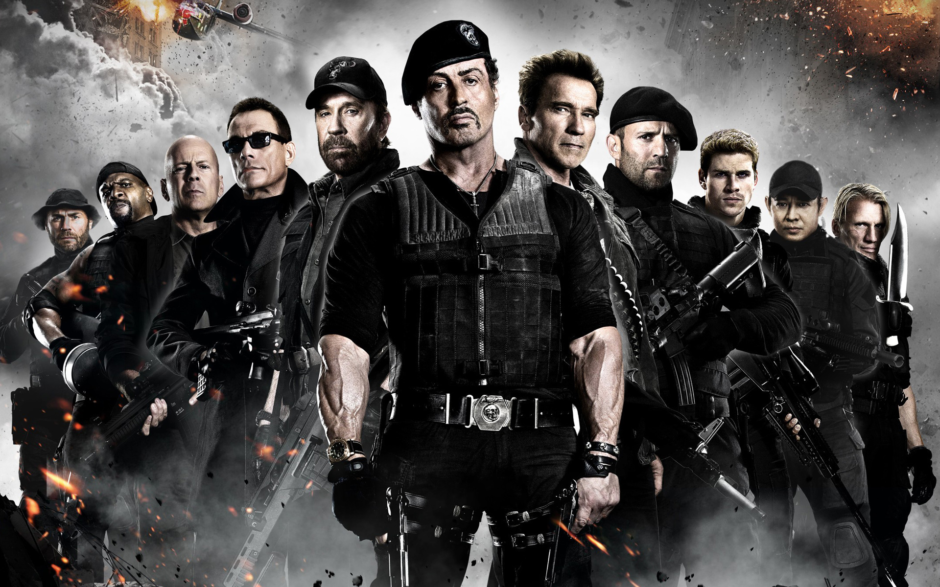 High Resolution Wallpaper | The Expendables 1920x1200 px